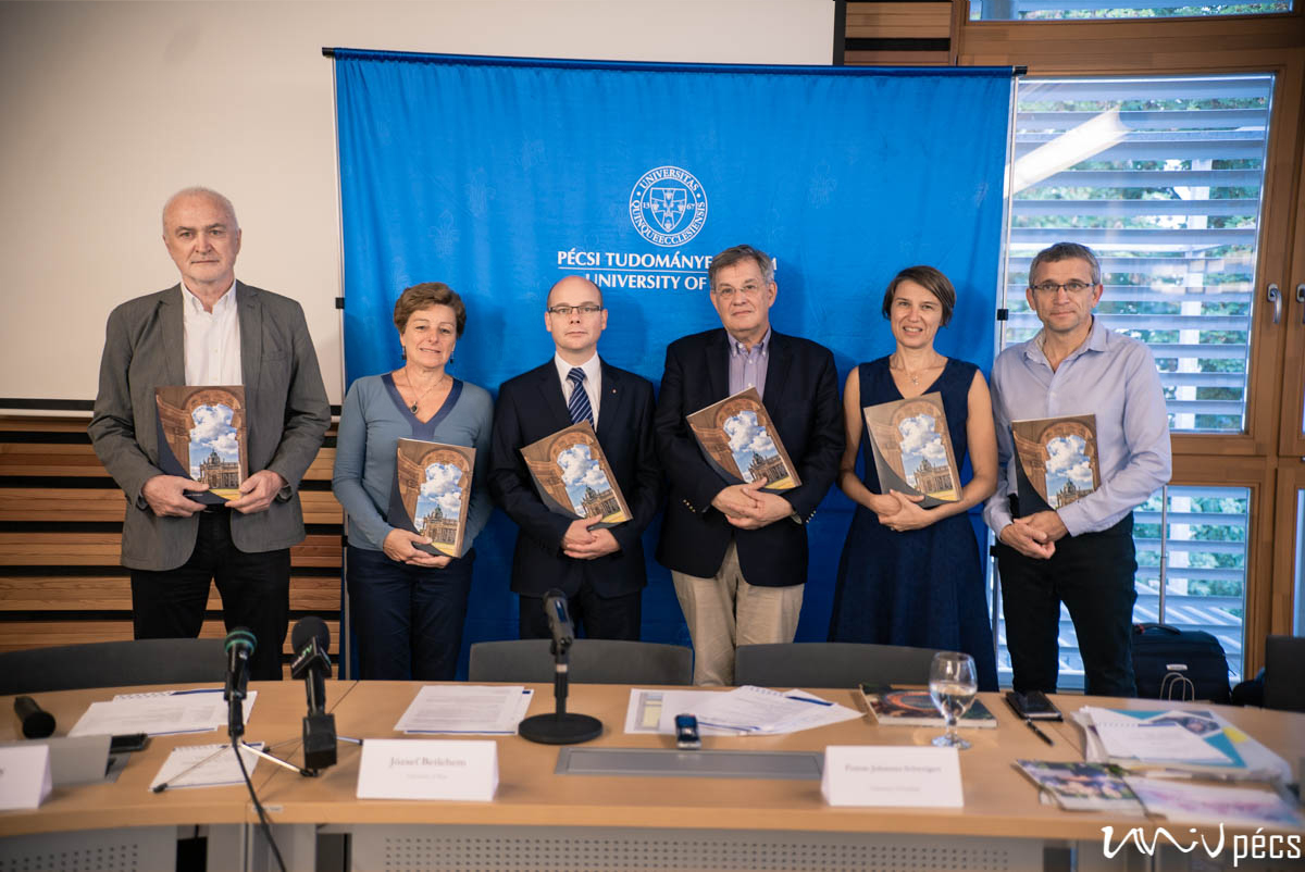 Európai szövetségben dolgozik a PTE a felsőoktatás megújításáért