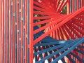 Az op-artot népszerűsítették installációjukkal a pécsi építész hallgatók