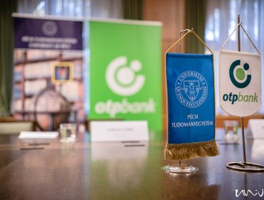 PTE-OTP együttműködési megállapodás / Fotó: Csortos Szabolcs, UnivPécs