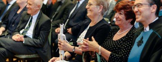 Díjak, elismerések a Tanévnyitó Ünnepi Szenátusi Ülésen