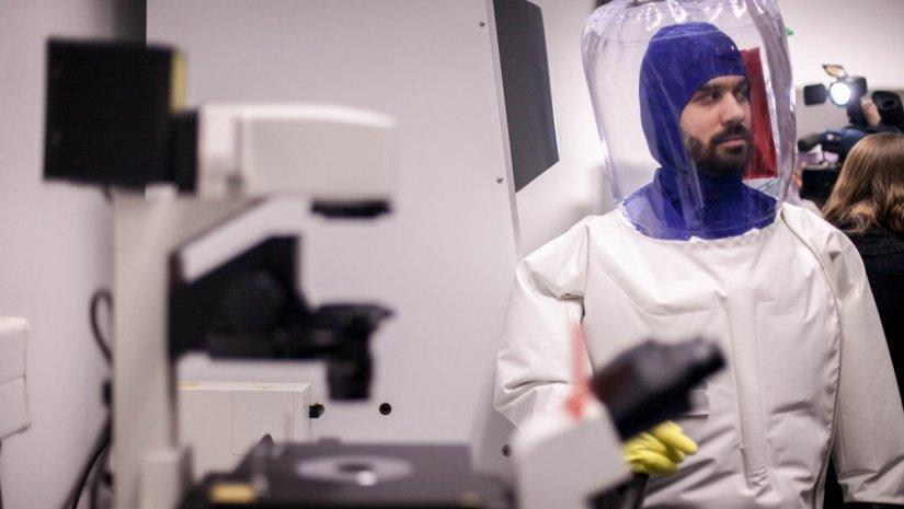 Vírus a laborban