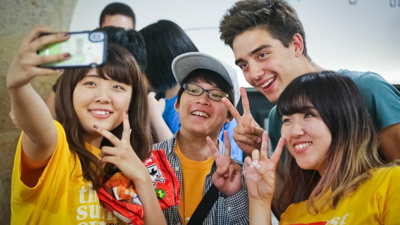 Nyári egyetem japán hallgatóknak a PTE-n