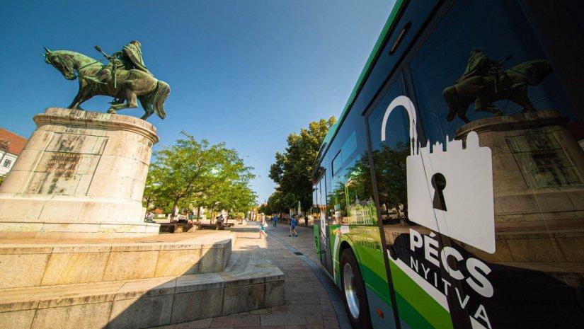 Zöldebb közösségi közlekedés Pécsett