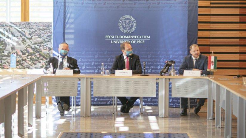 5,7 milliárdos kormányzati támogatás érkezik a PTE-re