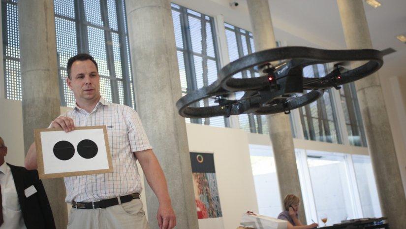 Drónok a parlagfű kiszűrése és a járműforgalom szolgálatában