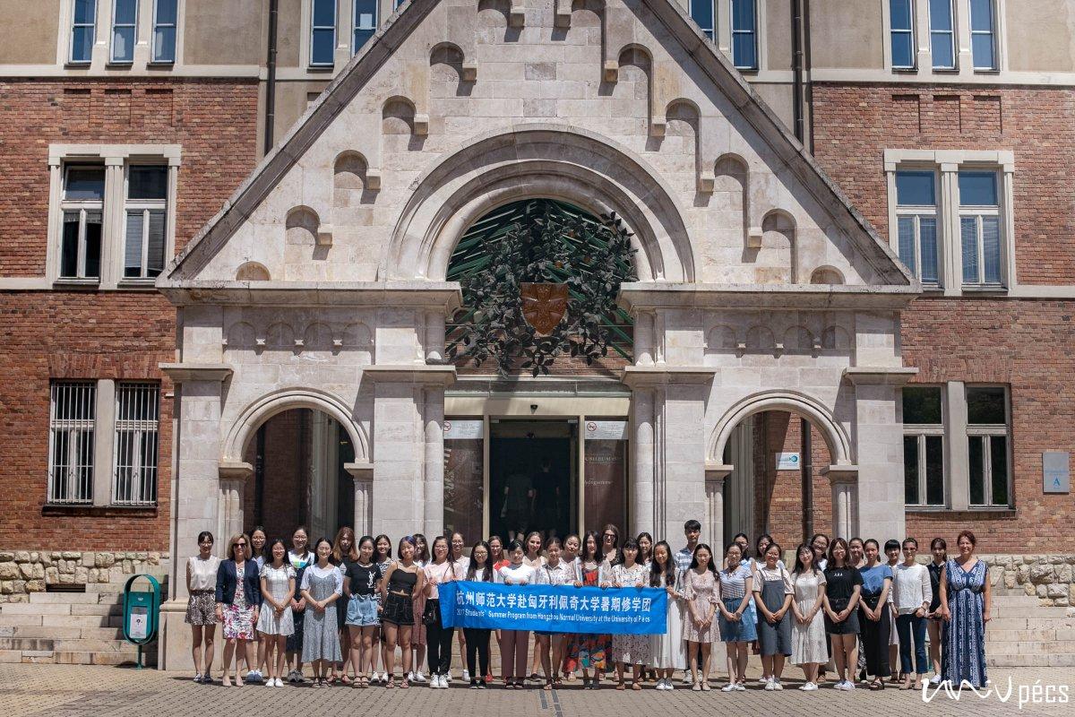 Speciális nyári egyetem kínai hallgatóknak a PTE-n