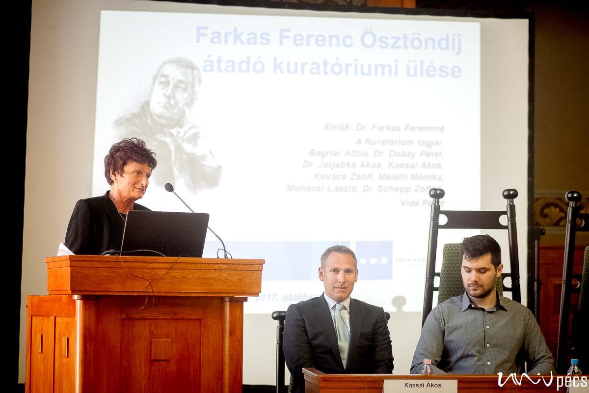 In memoriam Farkas Ferenc