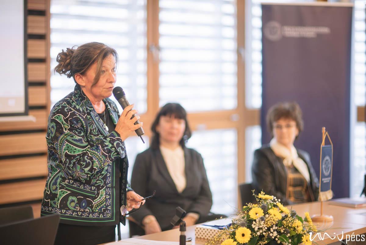 A Pécsi Tudományegyetem Partnerintézménye - címátadó ünnepség