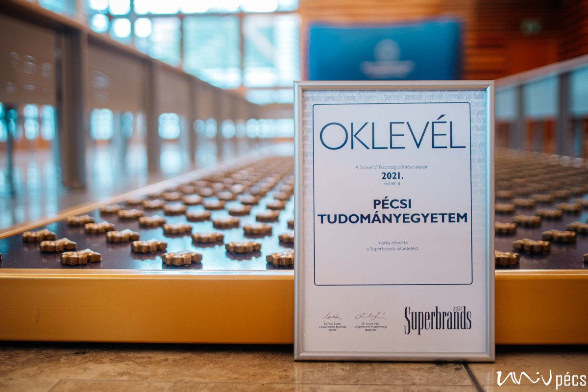 Superbrands 2021 - University of Pécs (Photo:Szabolcs Csortos)
