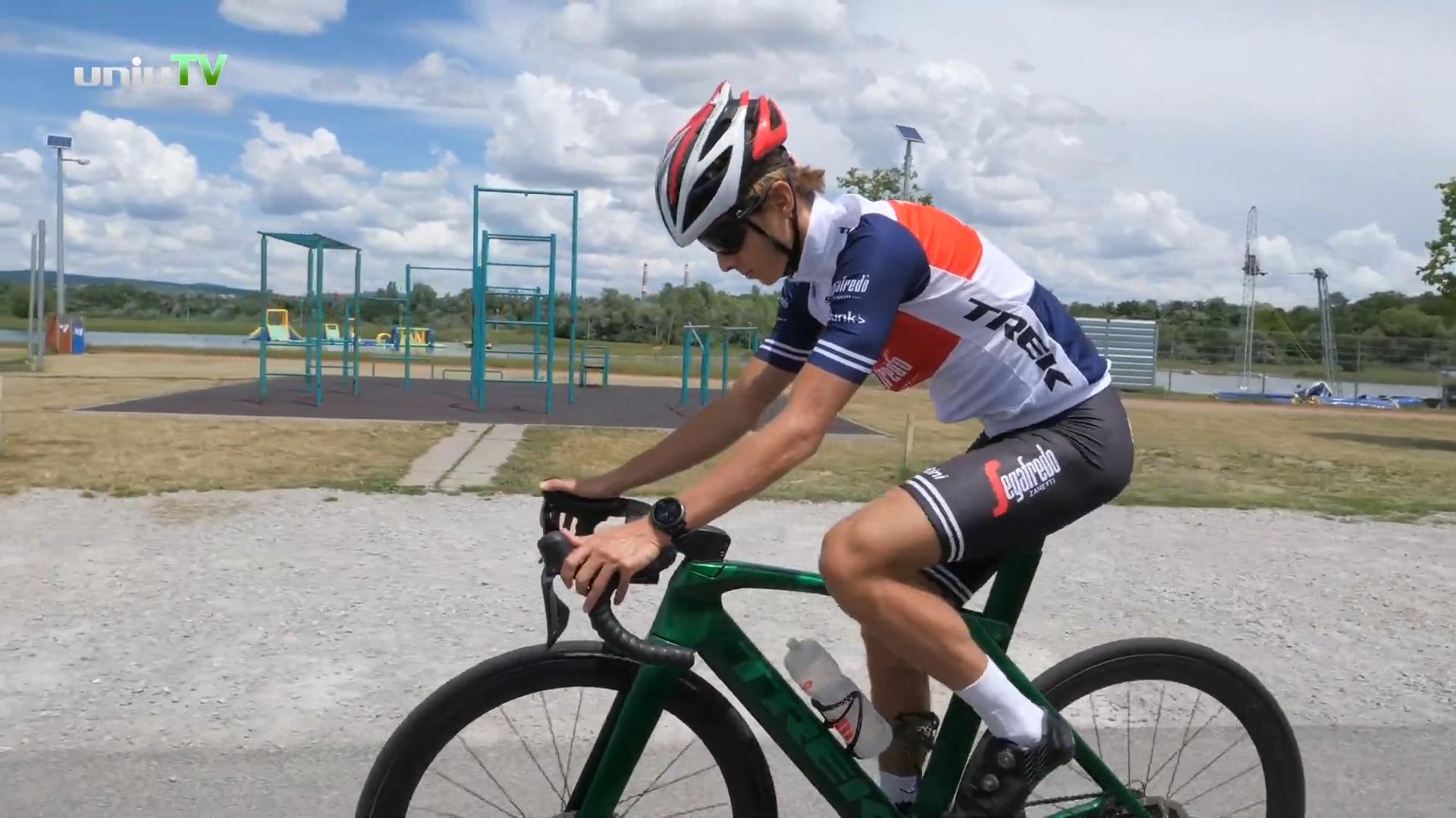 Bicsák Bence, a feltörekvő magyar triatlonista