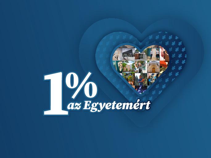 1% az Egyetemért - a PTE Közhasznú Alapítvány felhívása