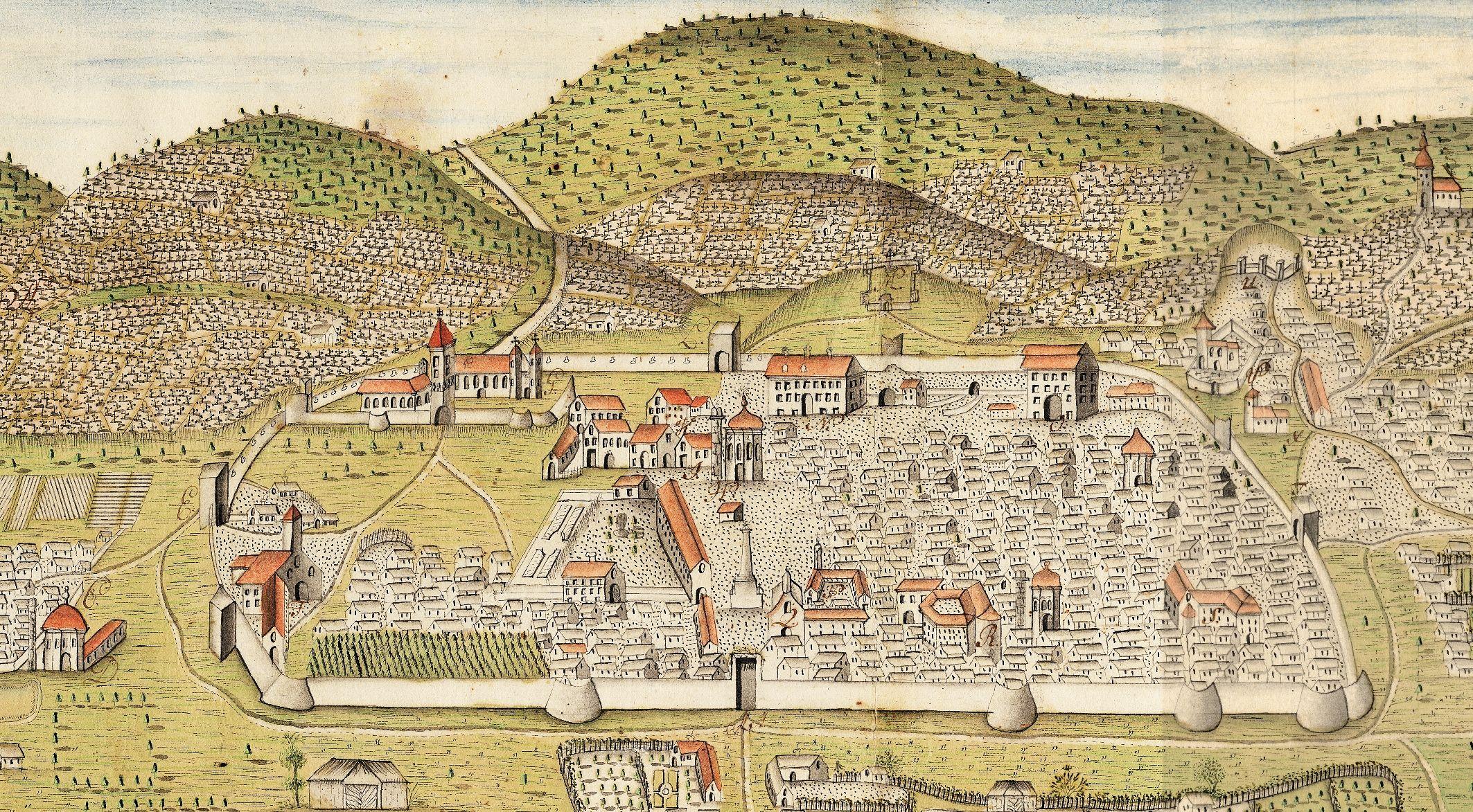 Pécs a török időkben