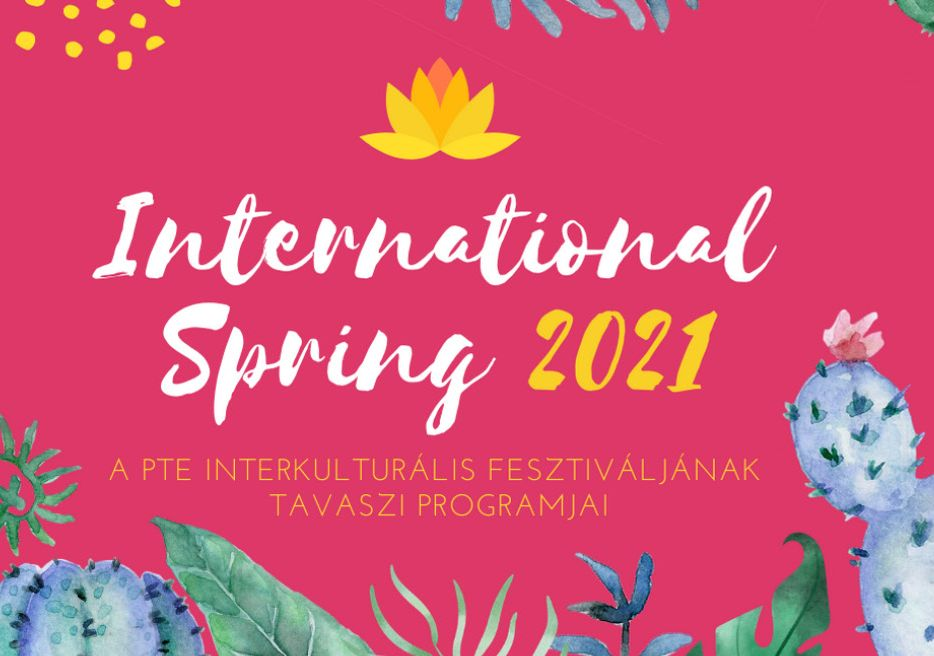 Nemzetközi Tavasz - májusi programok
