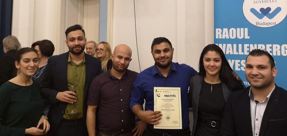 Raoul Wallenberg-díjban részesült a Wlislocki Henrik Szakkollégium